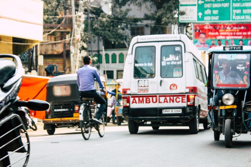 Indian ambulance service. Making it easier for family back home