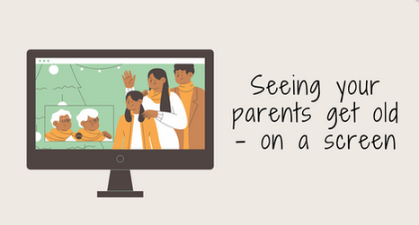 Seeing your parents get old – on a screen